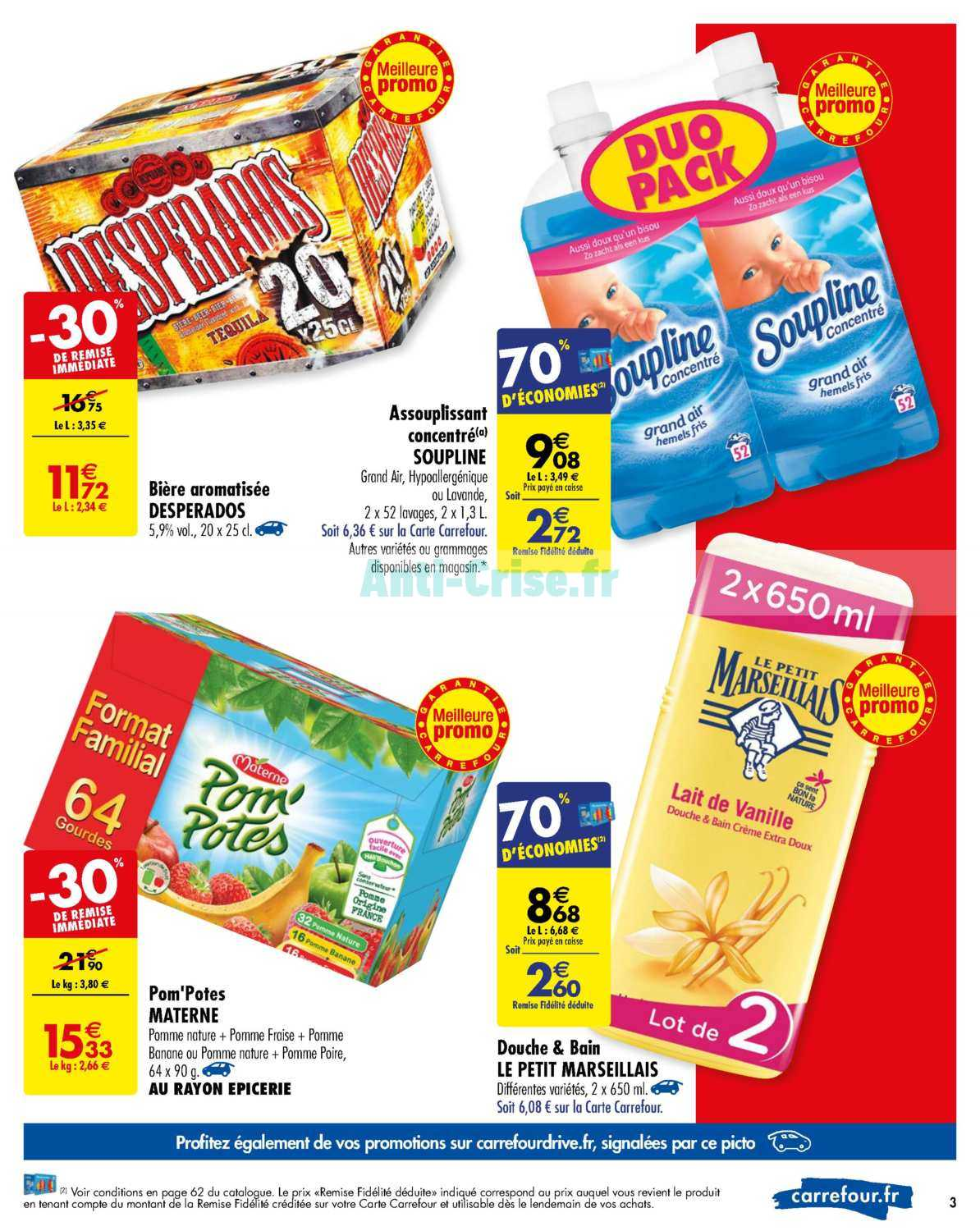 Catalogue Carrefour du 09 au 15 juillet 2019 - Catalogues