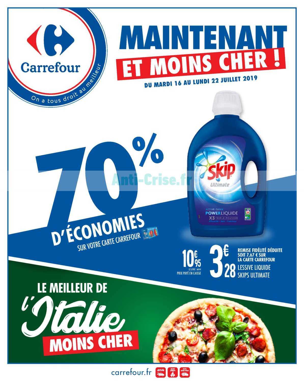 Catalogue Carrefour du 16 au 22 juillet 2019