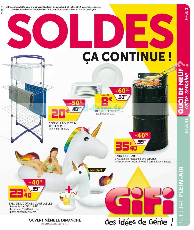 Catalogue Gifi Du 02 Au 29 Juillet 2019 Catalogues Promos