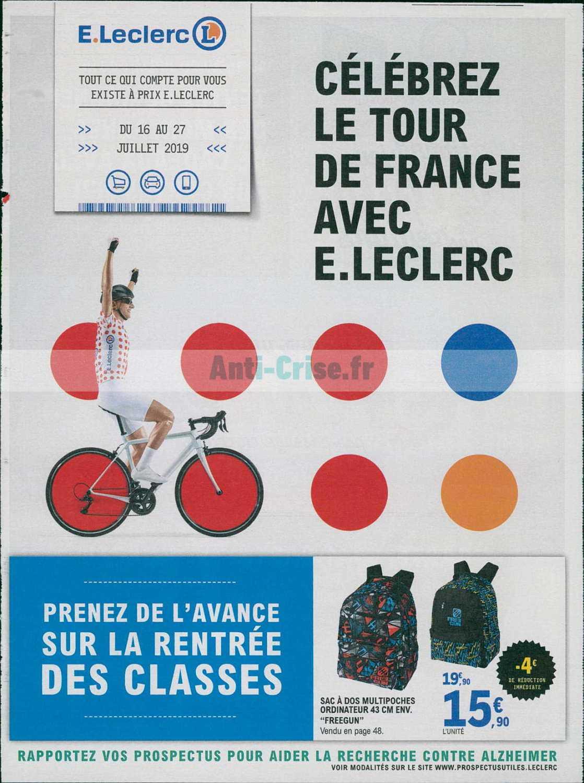 Catalogue Leclerc du 16 au 27 juillet 2019