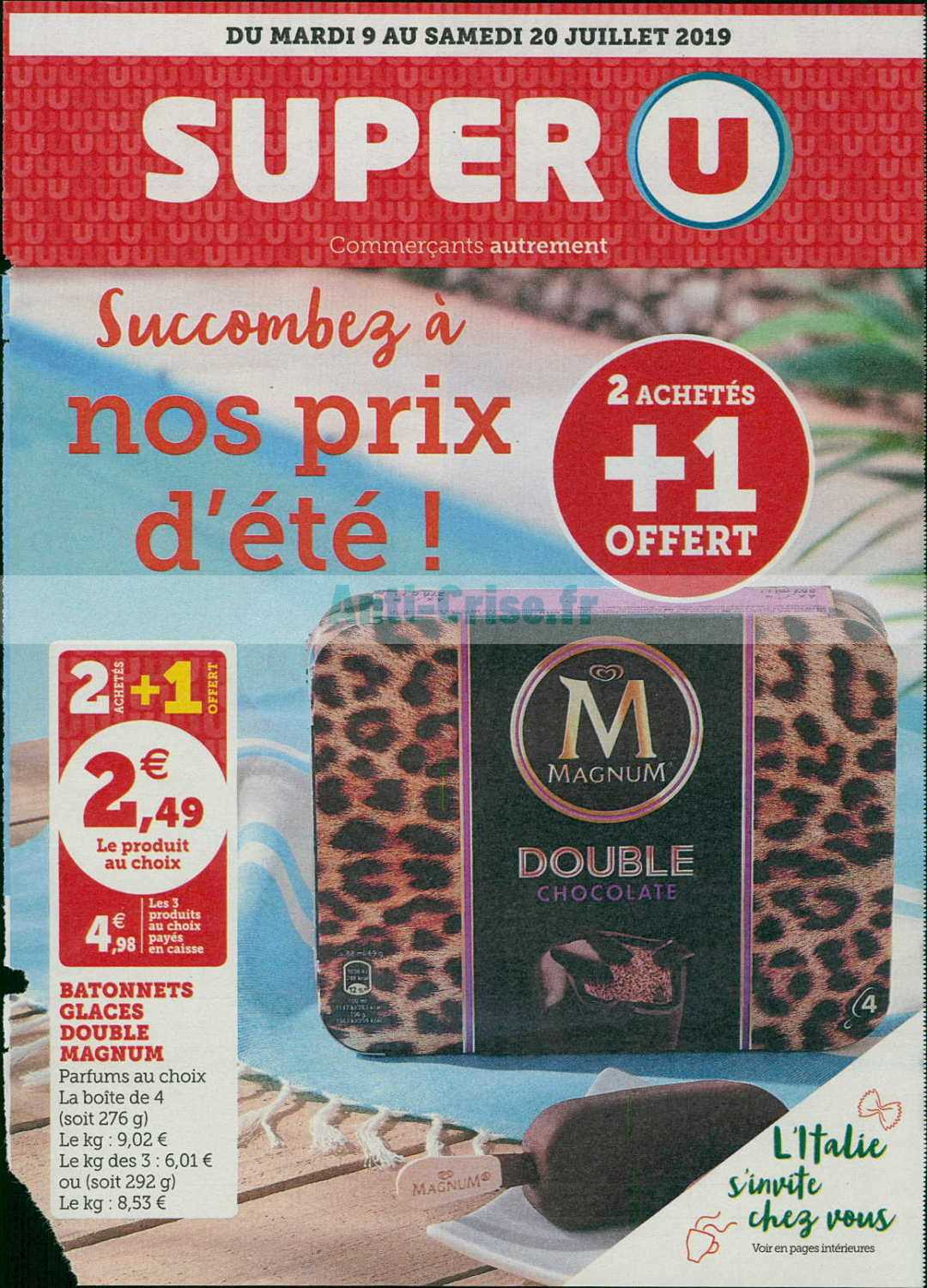 Catalogue Super U du 09 au 20 juillet 2019 - Catalogues ...