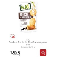 Rice Crackers N.A! partout