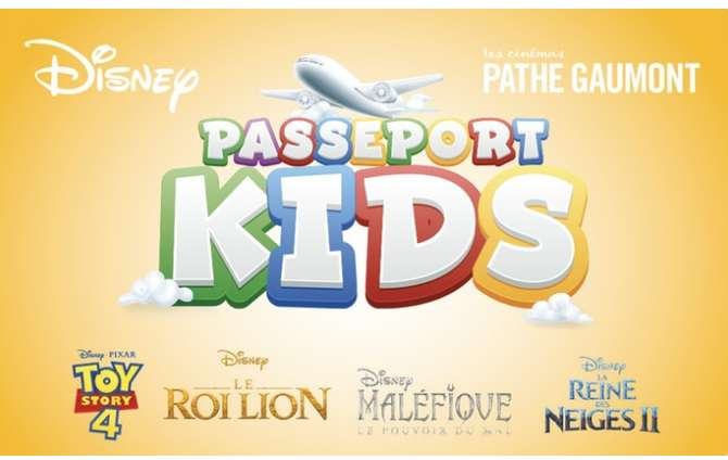 24€ le passeport Kids Pathe Gaumont + 1 place adulte