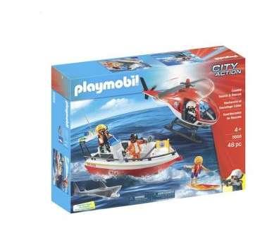 14€ la boite Playmobil City Action 5668 Les gardes-côtes
