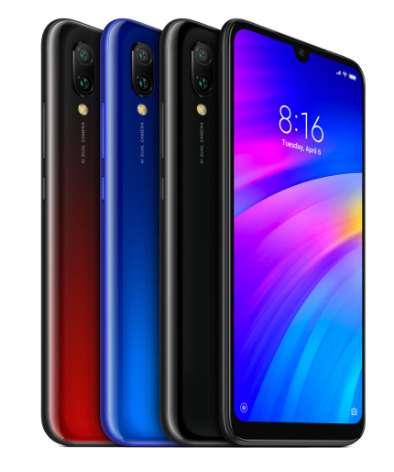 Smartphone Xiaomi Redmi 7 64go à 115€