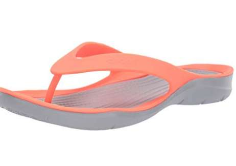 12€ les tongs Crocs Swiftwater Flip W