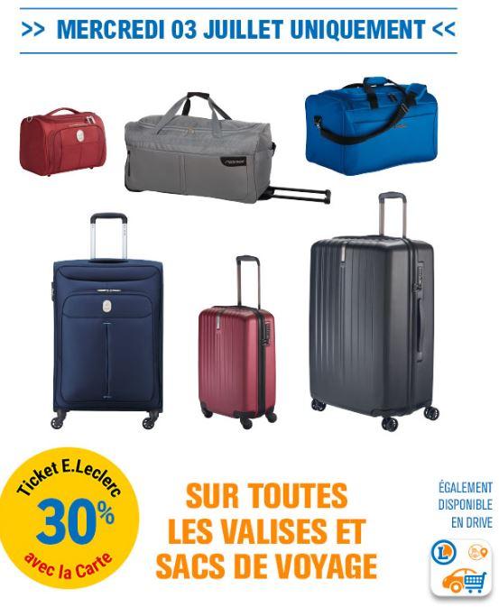 Valises Sur Leclerc30En Les Et Sacs De Ticket Voyage v0ON8nwm