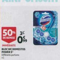 Bloc WC Domestos chez Auchan (21/08 – 27/08)