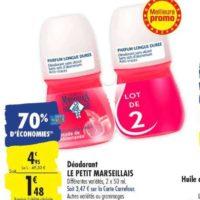 Déodorant Le Petit Marseillais chez Carrefour (20/08 – 26/08)
