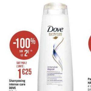 Shampoing Dove chez Casino (13/08 – 25/08)