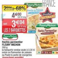 Plat Cuisiné Fleury Michon chez Cora (27/08 – 02/09)