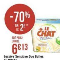 Lessive en capsules Le Chat chez Casino (13/08 – 25/08)