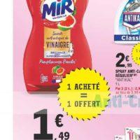 Liquide Vaisselle Mir chez Leclerc Pointe Sud-Ouest (13/08 – 24/08)