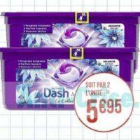 Lessive en capsules Dash chez Casino (20/08 – 01/09)