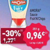 Sauce Fish'n' chips Amora chez Aldi (23/08 – 27/08)