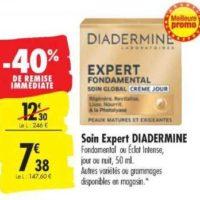 Crème Expert Diadermine chez Carrefour (13/08 – 26/08)