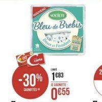 Fromage Bleu de Brebis Société chez Géant Casino (13/08 – 25/08)