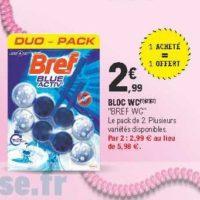 Bloc WC Bref chez Leclerc Pointe Sud-Ouest (13/08 – 24/08)