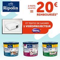 Offre de Remboursement Ripolin / Leroy Merlin : 20€ Remboursés sur Gamme XPRO3