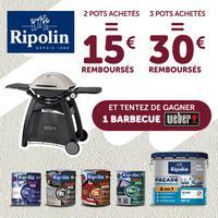 Offre de Remboursement Ripolin / Leroy Merlin : Jusqu'à 30€ Remboursés sur Gamme XPRO3