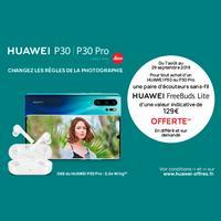 Bon Plan Huawei : Ecouteurs sans-fil FreeBuds Offerts