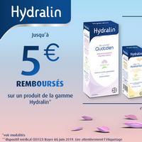 Offre de Remboursement Hydralin : Jusqu'à 5€ Remboursés