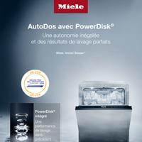 Bon Plan Miele : 1 Lave-Vaisselle AutoDos Acheté = 6 PowerDisk® Offerts