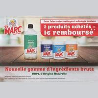 Offre de Remboursement St Marc : 1€ Remboursé sur 2 Produits