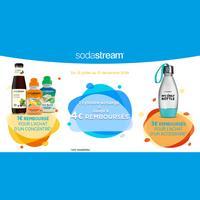 Offre de Remboursement Sodastream : Jusqu'à 4€ Remboursés sur Cylindre + Produit(s)