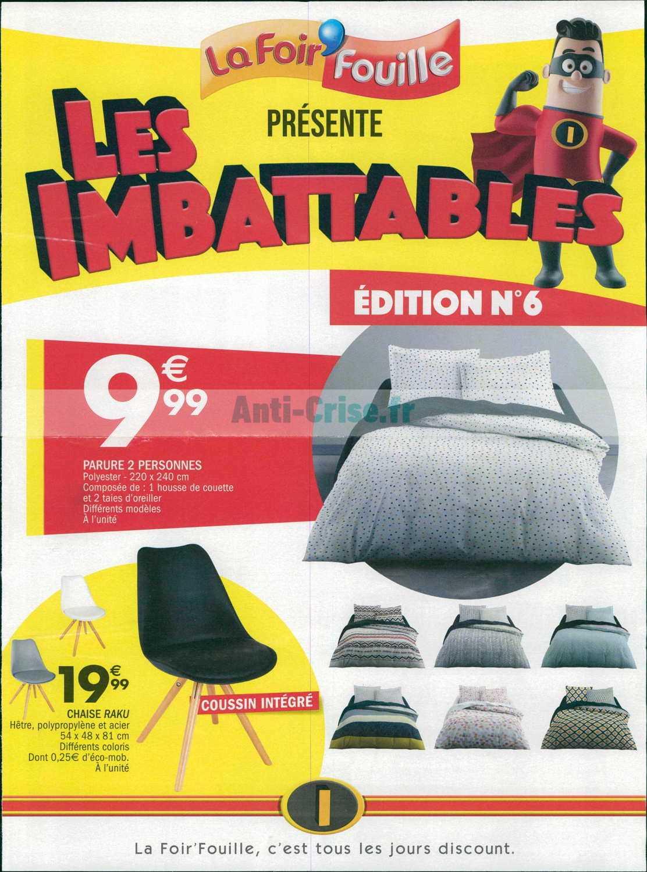 Catalogue La Foir Fouille Du 12 Au 25 Août 2019 Catalogues