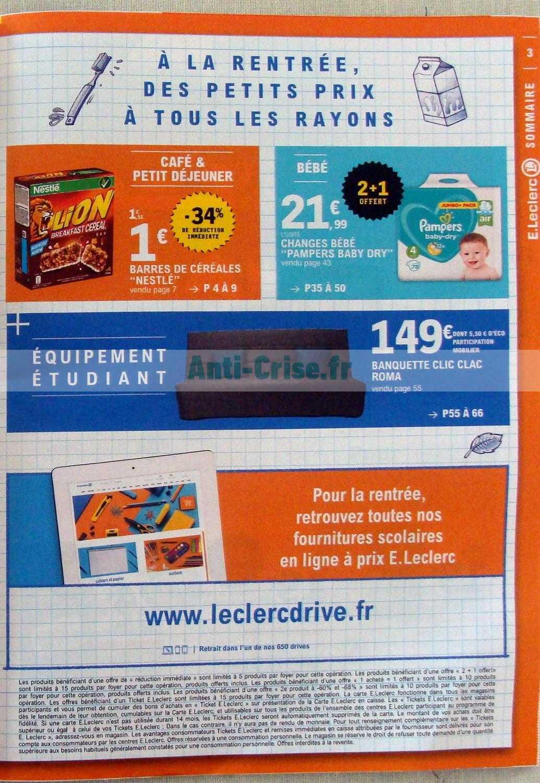 Catalogue Leclerc Du 20 Au 31 Août 2019 Catalogues Promos