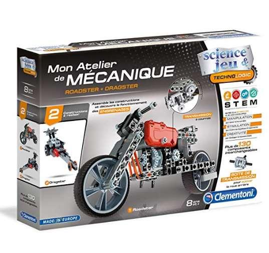 6,99€ Clementoni – 52216-Atelier Mécanique – Roadster & Dragster