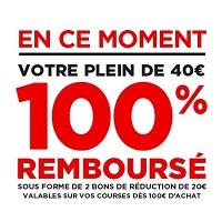 Géant et Casino : Carburants à Prix Coûtant et 40€ de bons d'achats offerts