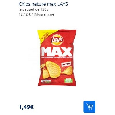 Chips Lay's Max Partout (06/08 – 24/08)