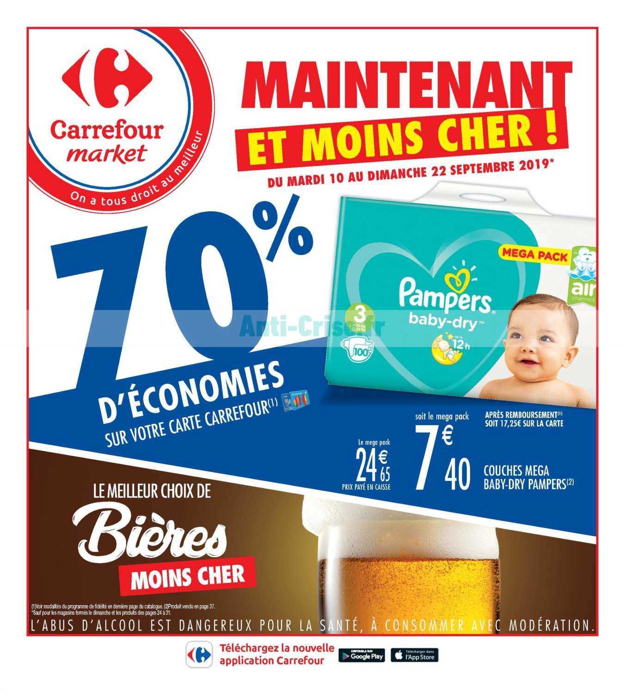 Catalogue Carrefour Market du 10 au 22 septembre 2019