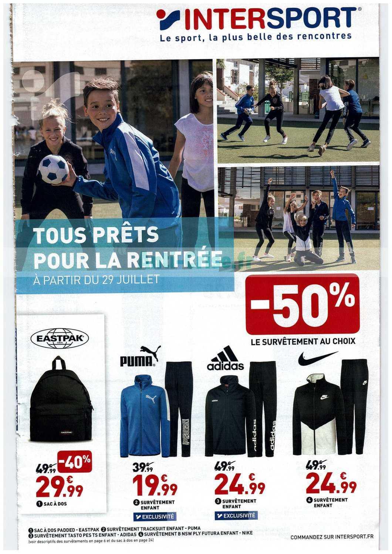 Catalogue Intersport Du 29 Juillet Au 01 Septembre 2019 Catalogues Promos Bons Plans Economisez Anti Crise Fr