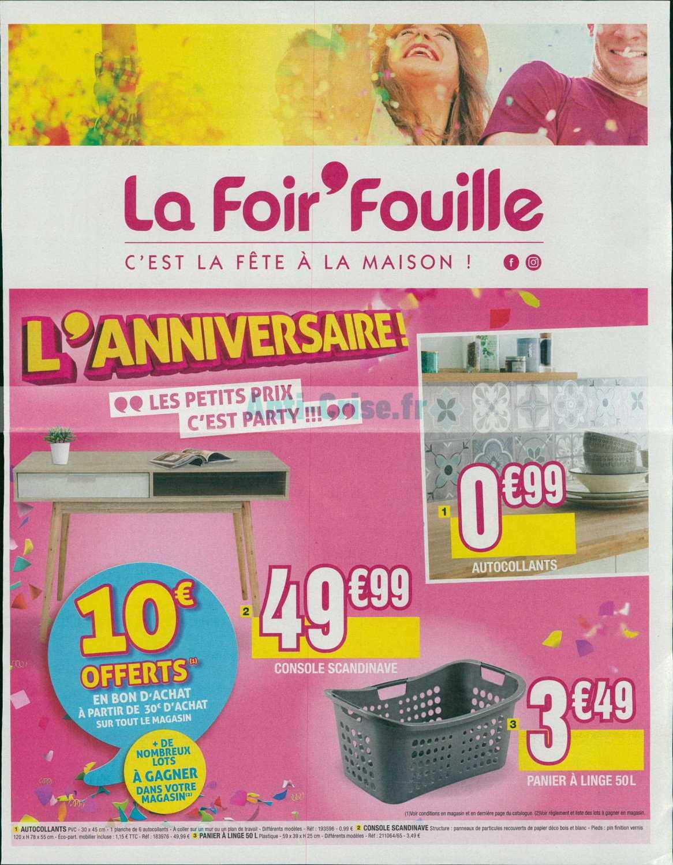 Catalogue La Foir Fouille Du 02 Au 15 Septembre 2019