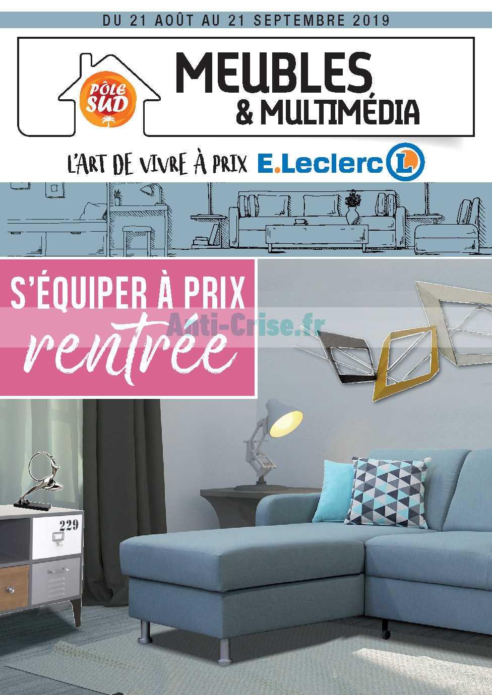 Leclerc Local Le Nouveau Catalogue Du 21 Aout Au 21 Septembre 2019 Est Disponible Voici Les Dernieres Promos A Ne Pas Manquer
