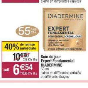 Crème Expert Fondamental Diadermine chez Cora (10/09 – 21/09)