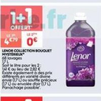 2 Assouplissants Lenor chez Leader Price (17/09 – 29/09)