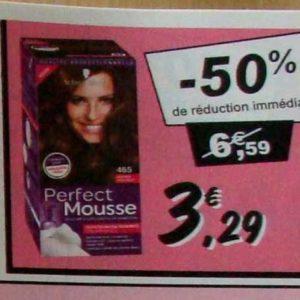 Coloration Perfect Mousse chez Leclerc (10/09 – 21/09)