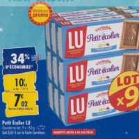 Biscuits Petit Ecolier chez Carrefour (23/09 – 30/09)