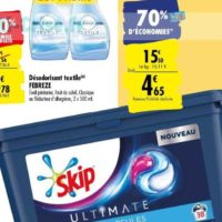 Lessive en Capsules Skip chez Carrefour (10/09 – 23/09)