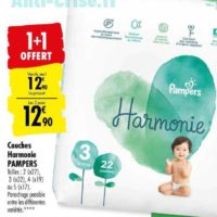 Couches Harmonie Pampers chez Carrefour (17/09- 07/10)