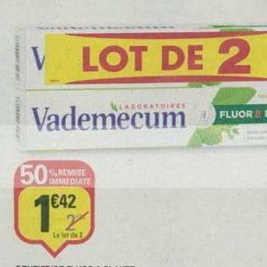 Dentifrice Vademecum chez Netto (17/09 – 29/09)