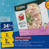 Dolce Pizza Sodebo chez Carrefour (23/09 – 30/09)
