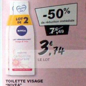 Lait Démaquillant Nivea chez Leclerc (10/09 – 21/09)