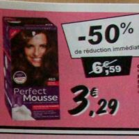Coloration Perfect Mousse chez Leclerc (10/09 – 21/09)
