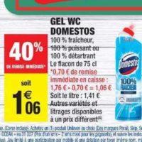 Gel WC Domestos chez Carrefour Market (24/09 – 06/10)