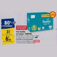 Couches Harmonie Pampers chez Carrefour (23/09 – 30/09)